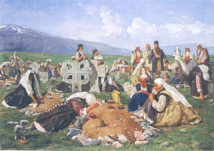 Zadushnitsa, c.1890 - Ivan Mrkvička