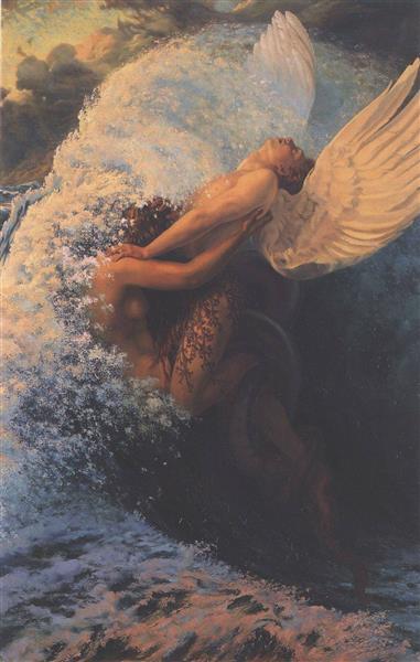 Spleen et Idéal, 1907 - Carlos Schwabe