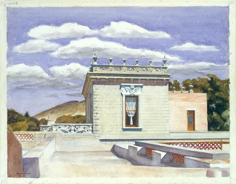 Saltillo Mansion - Edward Hopper