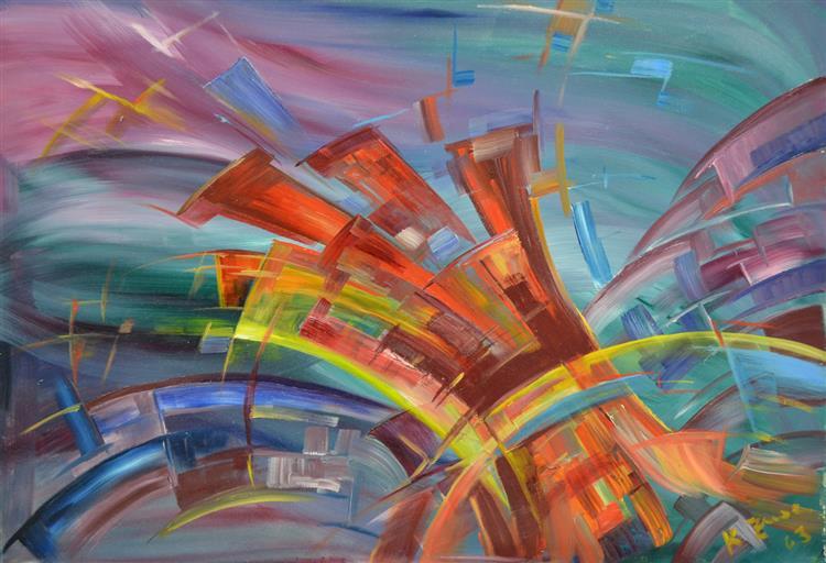 Explosion and Dynamics, 1963 - Konrad Zuse