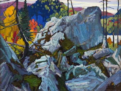 Autumn Batchewana, 1918 - Lawren Harris