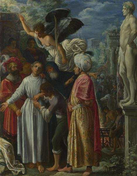 Saint Lawrence Prepared for Martyrdom - Adam Elsheimer