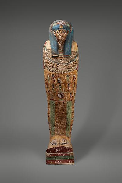 Coffin of Irtirutja, c.332 - c.250 BC - Ancient Egypt