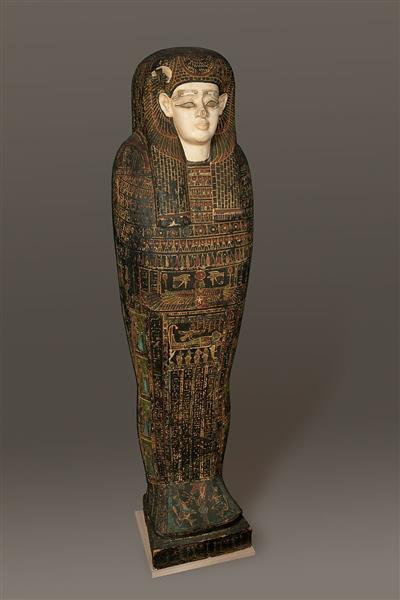 Coffin of Isetweret, c.400 - c.250 BC - Ancient Egypt