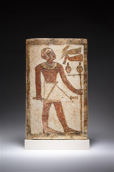 Stela of a Man, c.2030 - c.1981 BC - Ancient Egypt