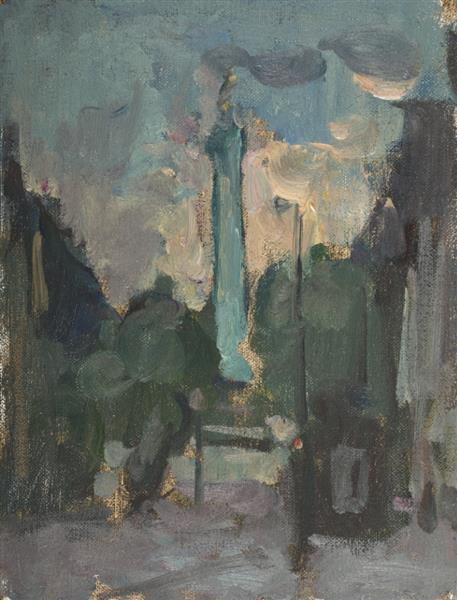 Looking towards Place de la Bastille, Paris - Martin Yeoman