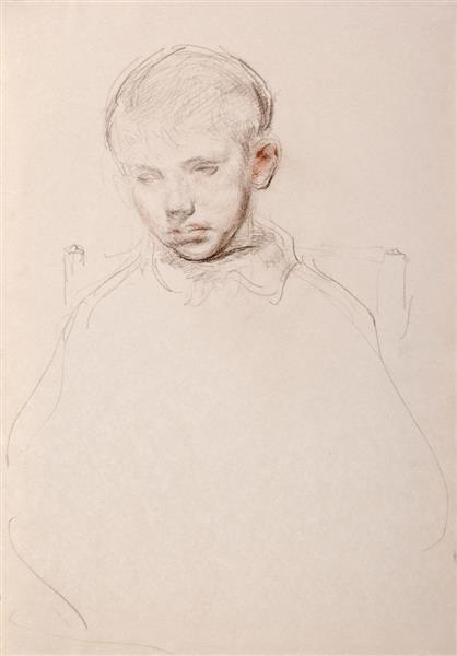 Portrait Drawing of George - Martin Yeoman