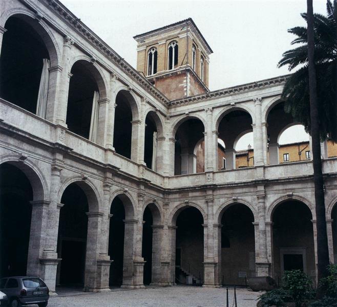 Palazzo Venezia (Rome), c.1460 - Leon Battista Alberti