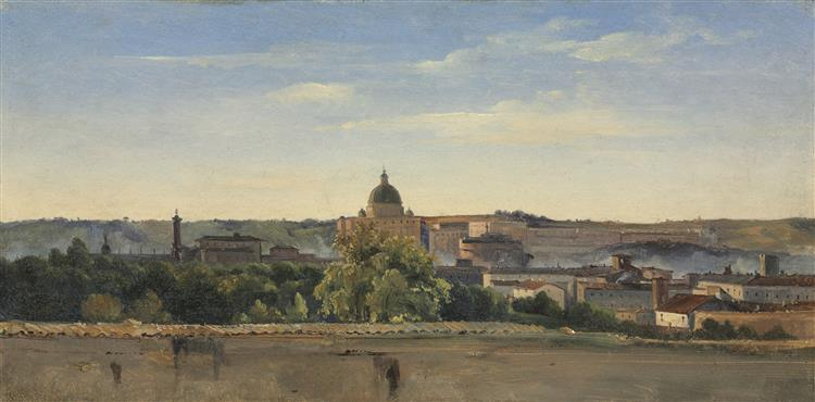 View of Rome - Pierre-Henri de Valenciennes
