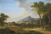 A Capriccio of Rome with the Finish of a Marathon - Pierre-Henri de Valenciennes