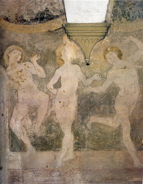 Nude Dancers - Antonio del Pollaiolo