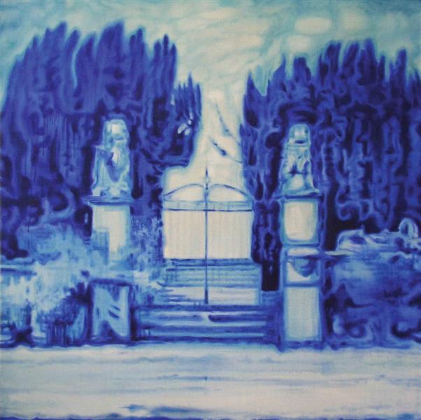 Blue Gate, 1995 - Valeria Trubina