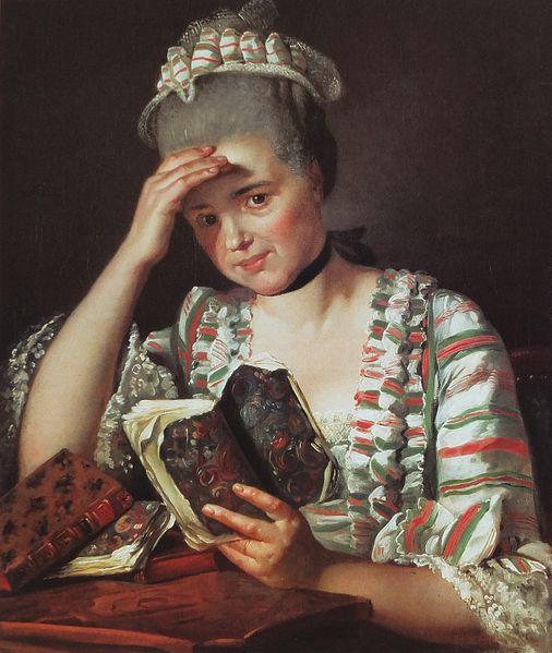 Portrait de Marie-Joséphine Buron, c.1769 - Jacques-Louis David