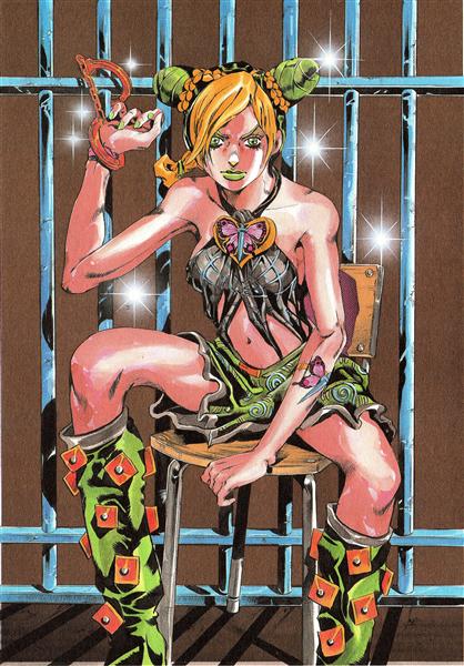 Prisoner FE40536: Jolyne Cujoh - Hirohiko Araki