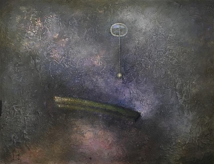 Cultivation of Lilac Dust with the Help of Pendulum, 2019 - Lech Jankowski
