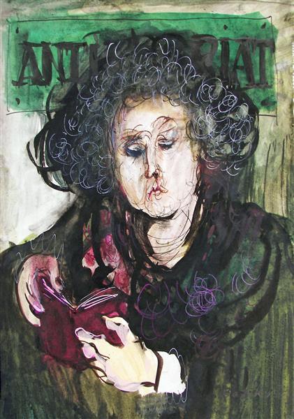 Lady Reading, 1988 - Maria Bozoky