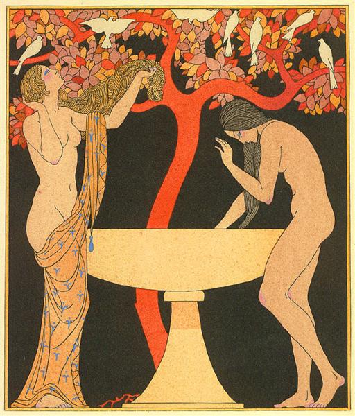 Songs of Bilitis, 1921 - 1922 - George Barbier