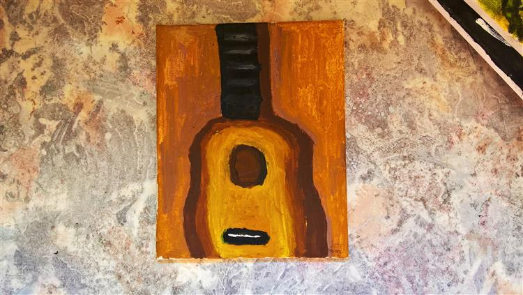The Guitar., 2015 - Maxim Keyfman