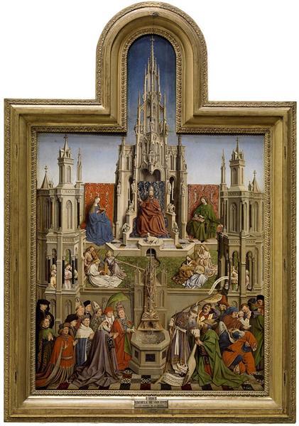 The Fountain of Life, 1432 - Jan van Eyck