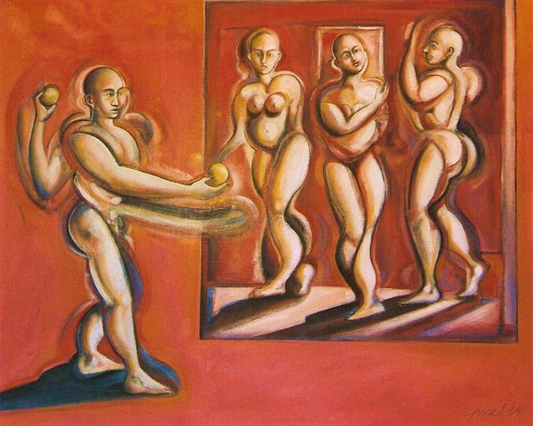 The judgment of Paris, 1999 - Joan Tuset