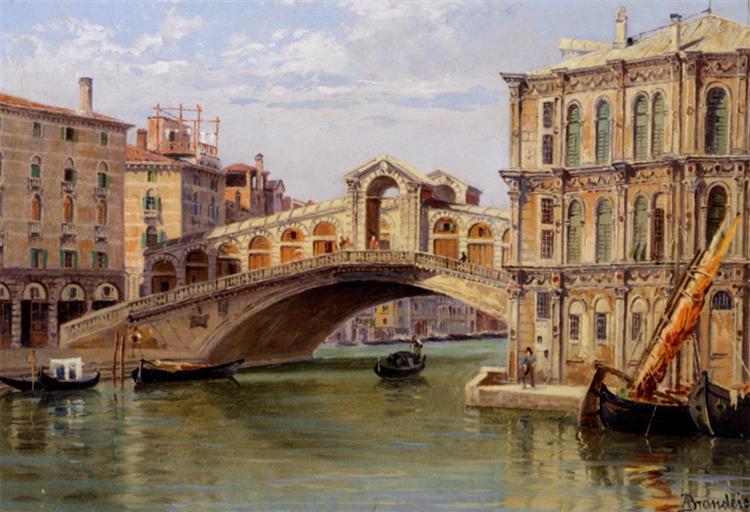 Il Ponte Di Rialto - Antonietta Brandeis