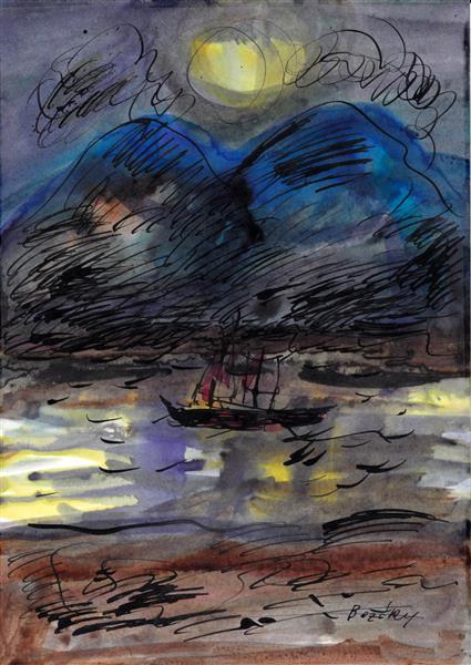 Danube, 1993 - Maria Bozoky