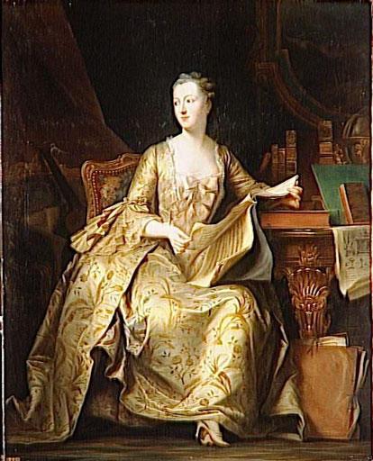 Jeanne Antoinette Poisson, Marquise De Pompadour, 1848 - Charles de Steuben