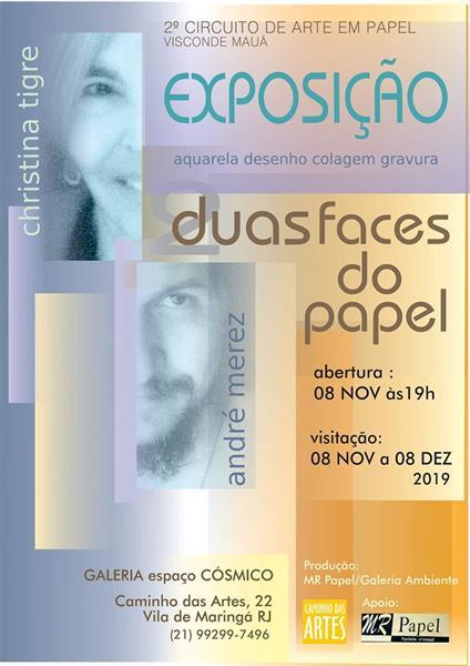 Exposição na Vila de Maringá RJ - André Merez