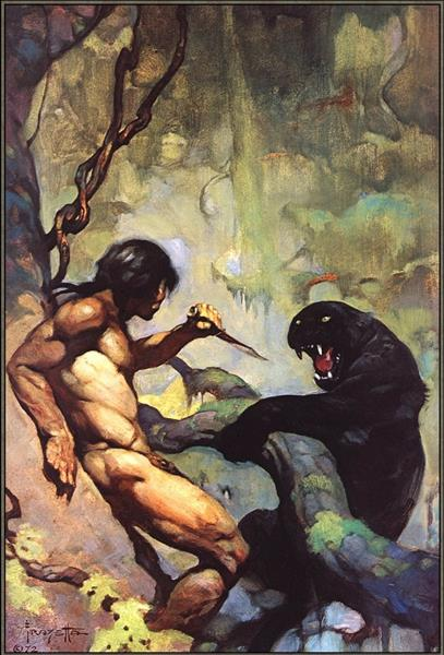 Black Panther - Frank Frazetta