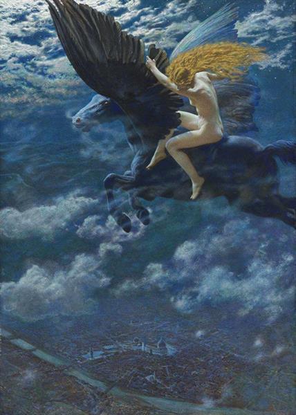 A Witch, 1902 - Эдвард Роберт Хьюз