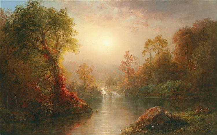 Autumn - Frederic Edwin Church