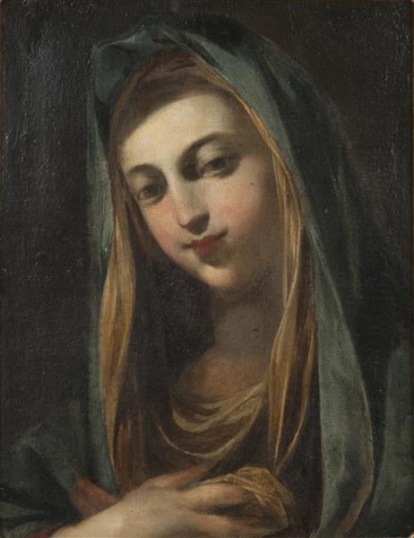 Female Saint - Giovanni Battista Salvi da Sassoferrato