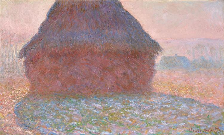 Grainstack in Sunshine, 1891 - Claude Monet