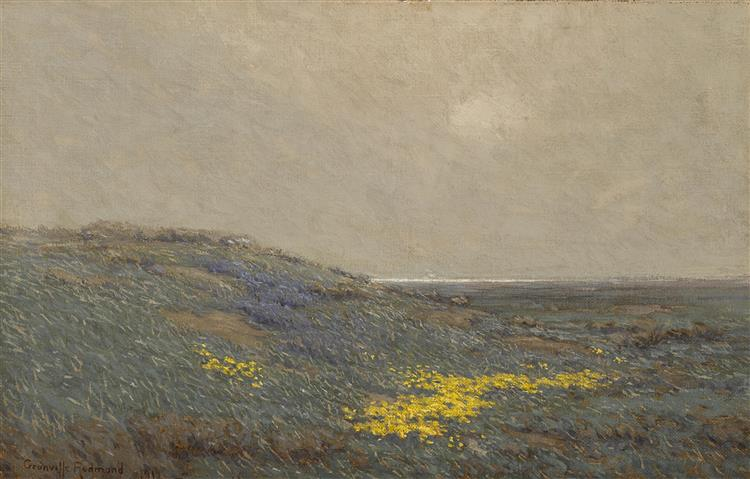 Coastal Wildflowers - Granville Redmond