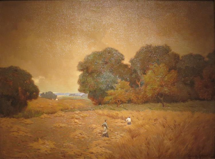 The Mowers (when Hearts Beat as One), 1907 - Granville Redmond