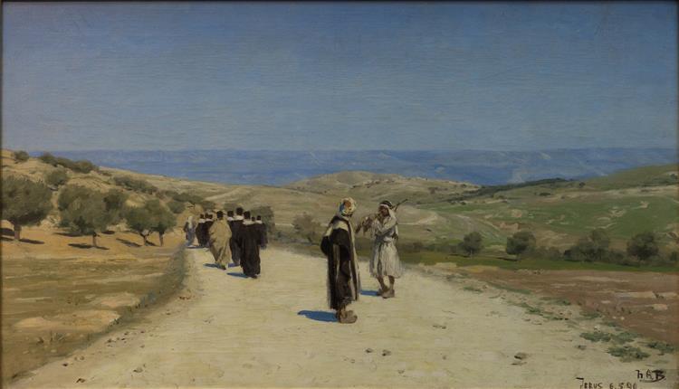 Vejen Til Betania, 1890 - Hans Andersen Brendekilde