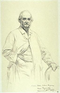Charles Fouques Duparc, 1867 - Henri Regnault
