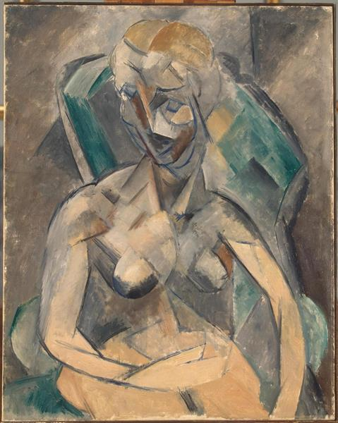 Young Woman, 1909 - Pablo Picasso