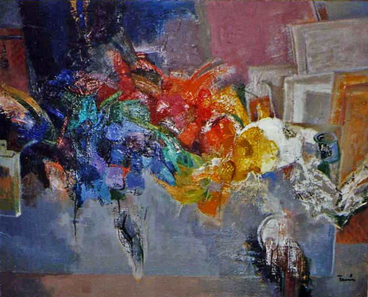 Painters Table, 1976 - Ervin Tamas