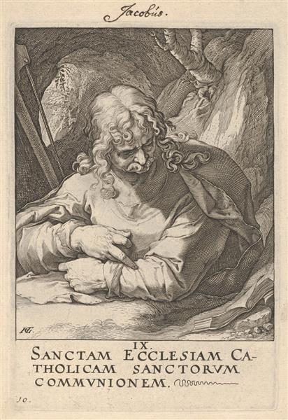 St. James the Less, c.1589 - Hendrick Goltzius