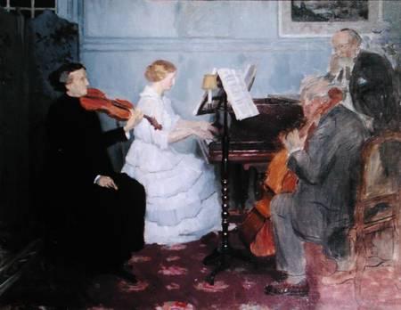 Chamber Music Concert, 1890 - Jules-Alexandre Grun