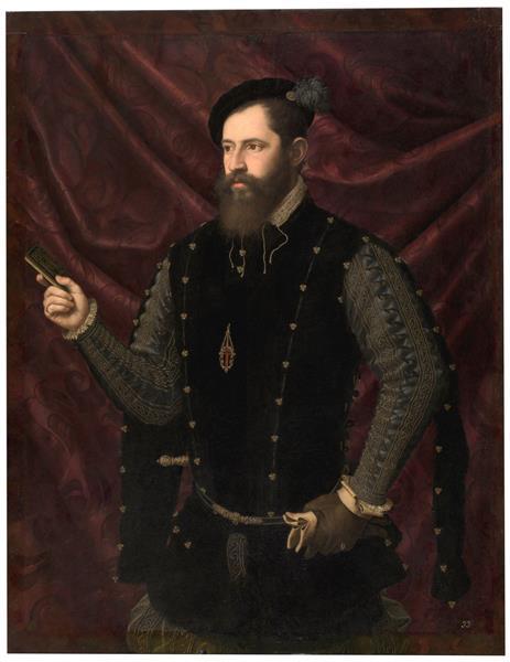 Retrato De Un Caballero Santiaguista, c.1560 - Vicente Juan Masip
