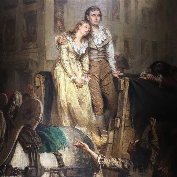 Oh Liberté ! Que De Crimes on Commet En Ton Nom ! (détail), 1874 - Laslett John Pott