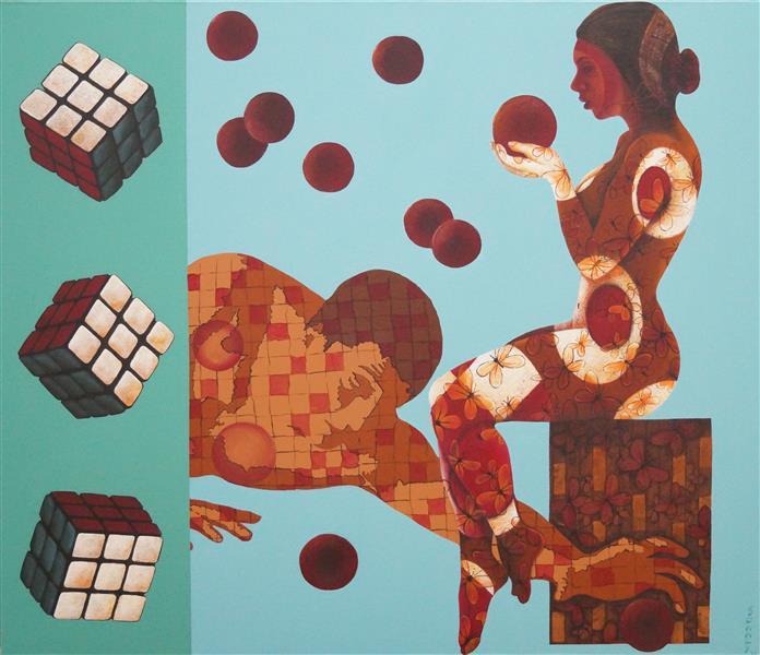 42x36 - Sonaly Gandhi