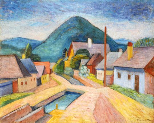 Nagybánya, c.1936 - Kmetty János