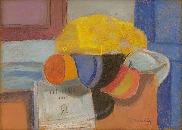 Still Life, 1925 - János Kmetty
