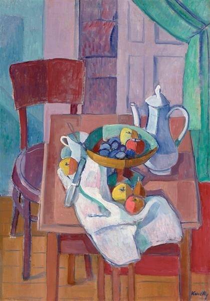 Still Life with Jug, 1927 - Kmetty János