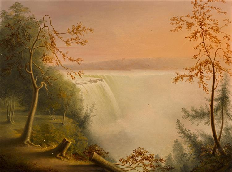 Niagara Falls (the Horseshoe Falles) - Rembrandt Peale