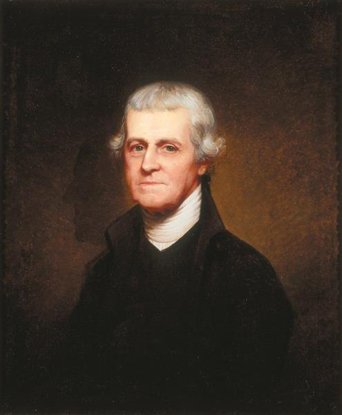 Dr. Noble Wimberly Jones, 1804 - Rembrandt Peale