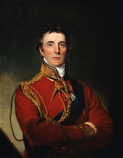 Duke of Wellington (copy After Sir Thomas Lawrence), 1818 - Rembrandt Peale